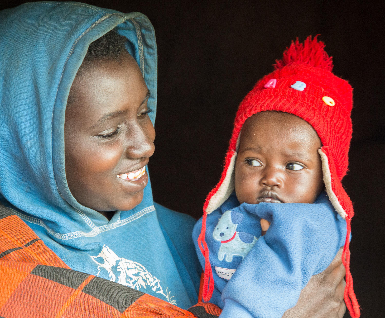 Tanzania moeder en kind