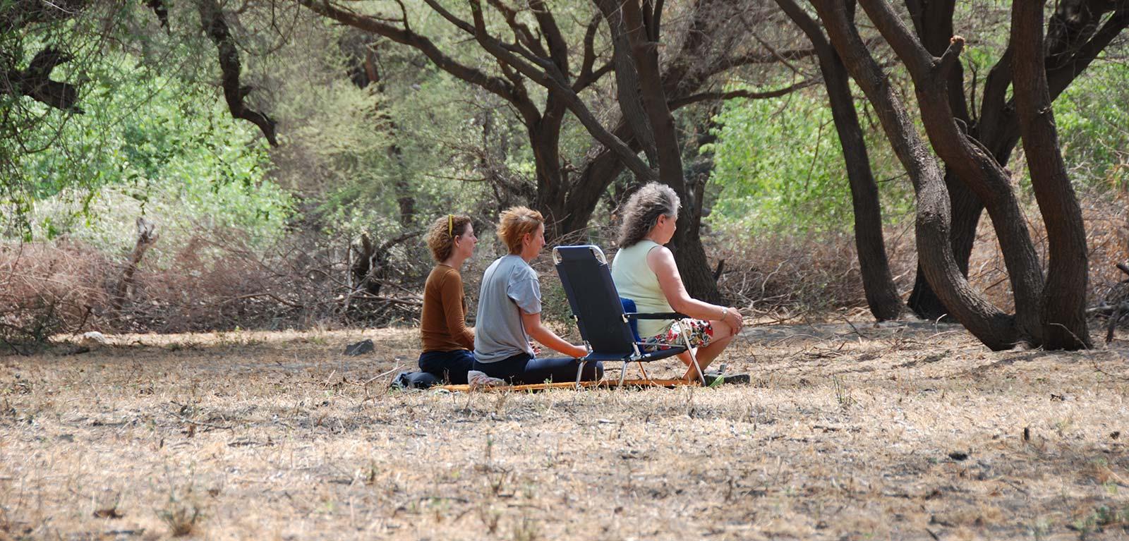 meditatie en bewegeing tanzania