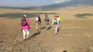 wandelen in afrika