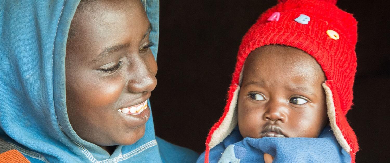 Tanzania moeder met kind