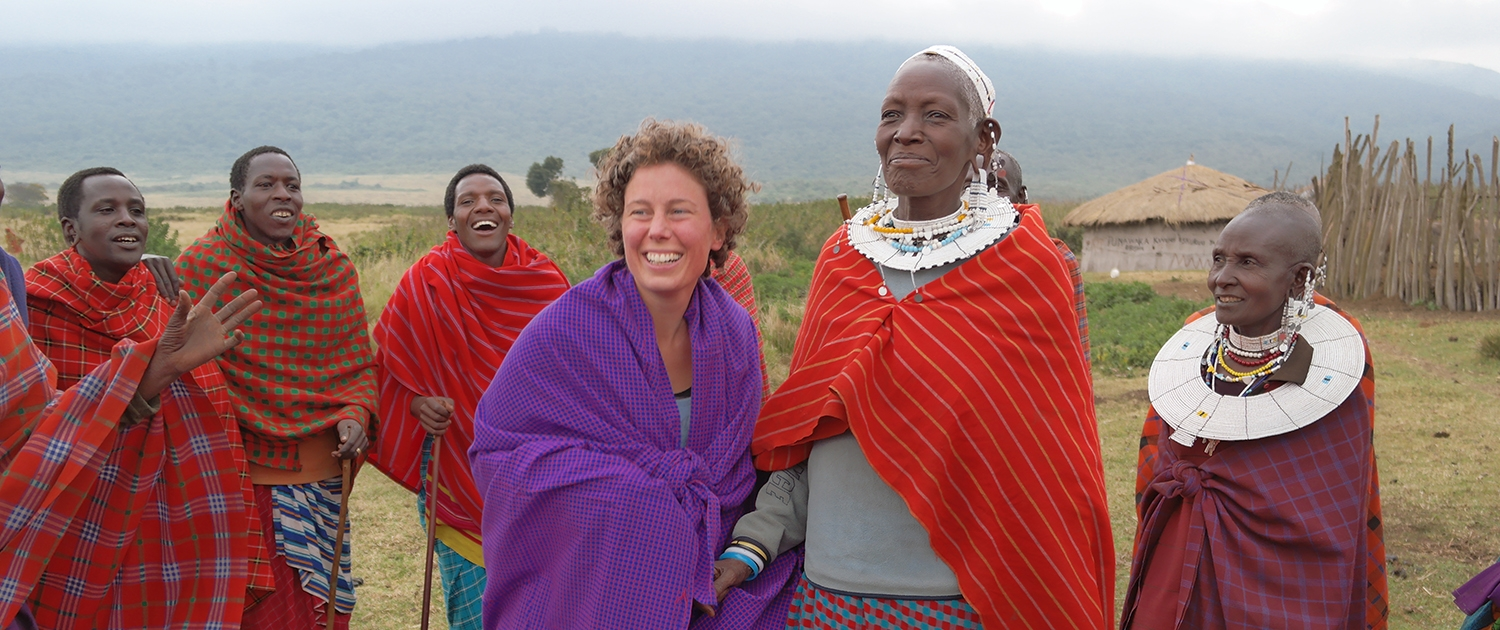 Ngorongoro meeting Masai