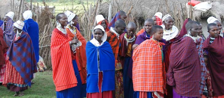 de masai in tanzania