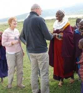 meet peopl from the masai tribe