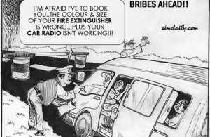 bribes ahead