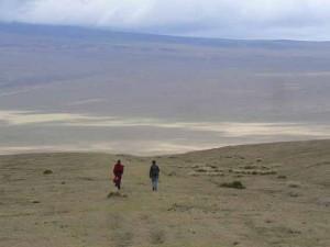 Embulmbul depression, Ngorognoro Tanzania