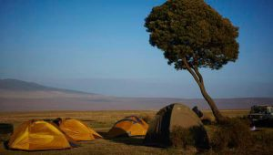 kamperen Ngorongoro Tanzania