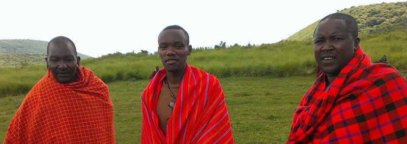 Masaï in Ngorongoro