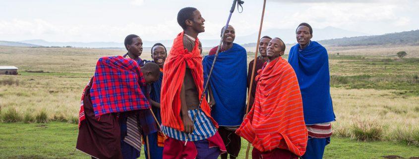 Masaï dans