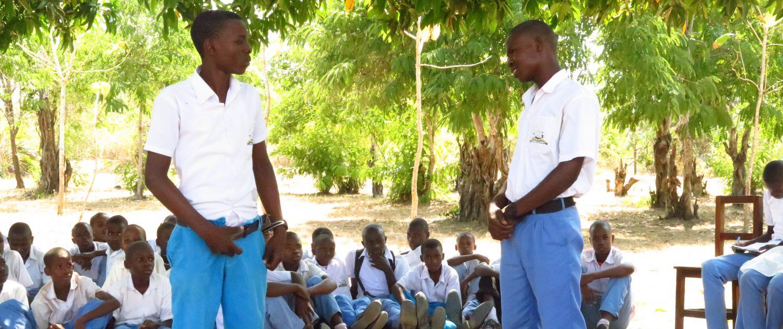 Local School near Bushiri Tanzania