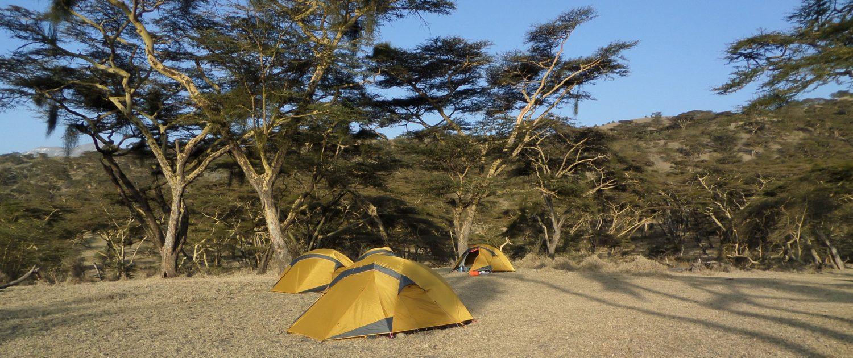 kamperen in Tanzania
