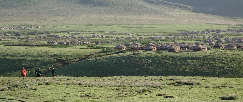 Ngorongoro Masai village