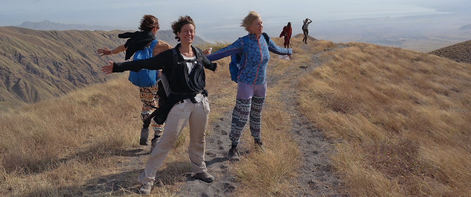 Ngorongoro enjoying the wind