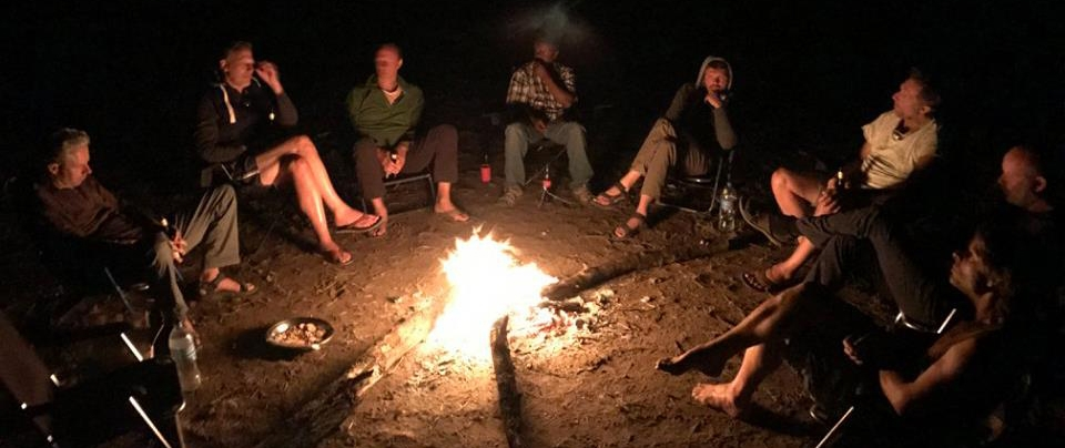 Rubondo campfire