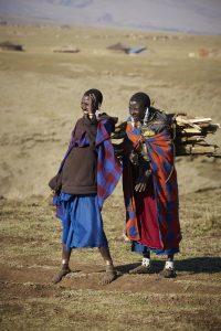 hout verzamelen Ngorongoro