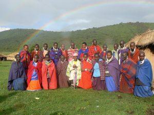 Masaï vrouwen Ngorongoro
