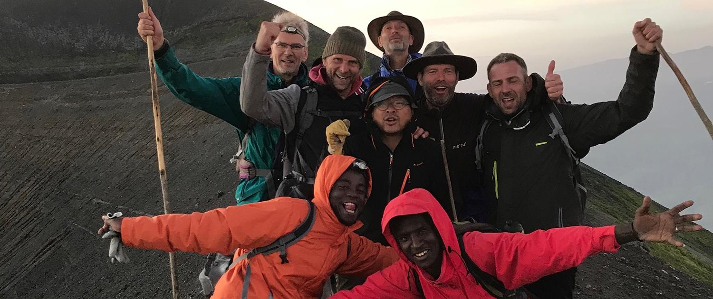 uitdaging mannensafari