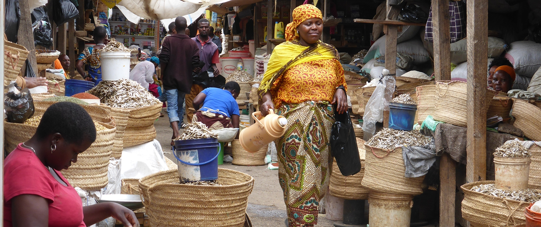 Lushoto markt Tanzania