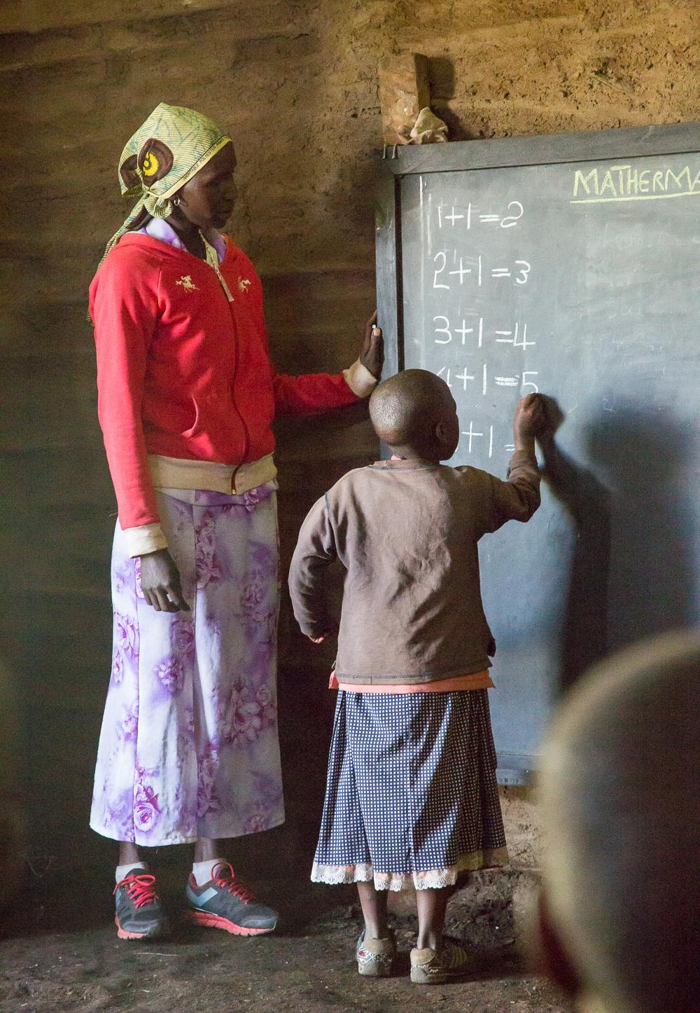 Masaï school Tanzania