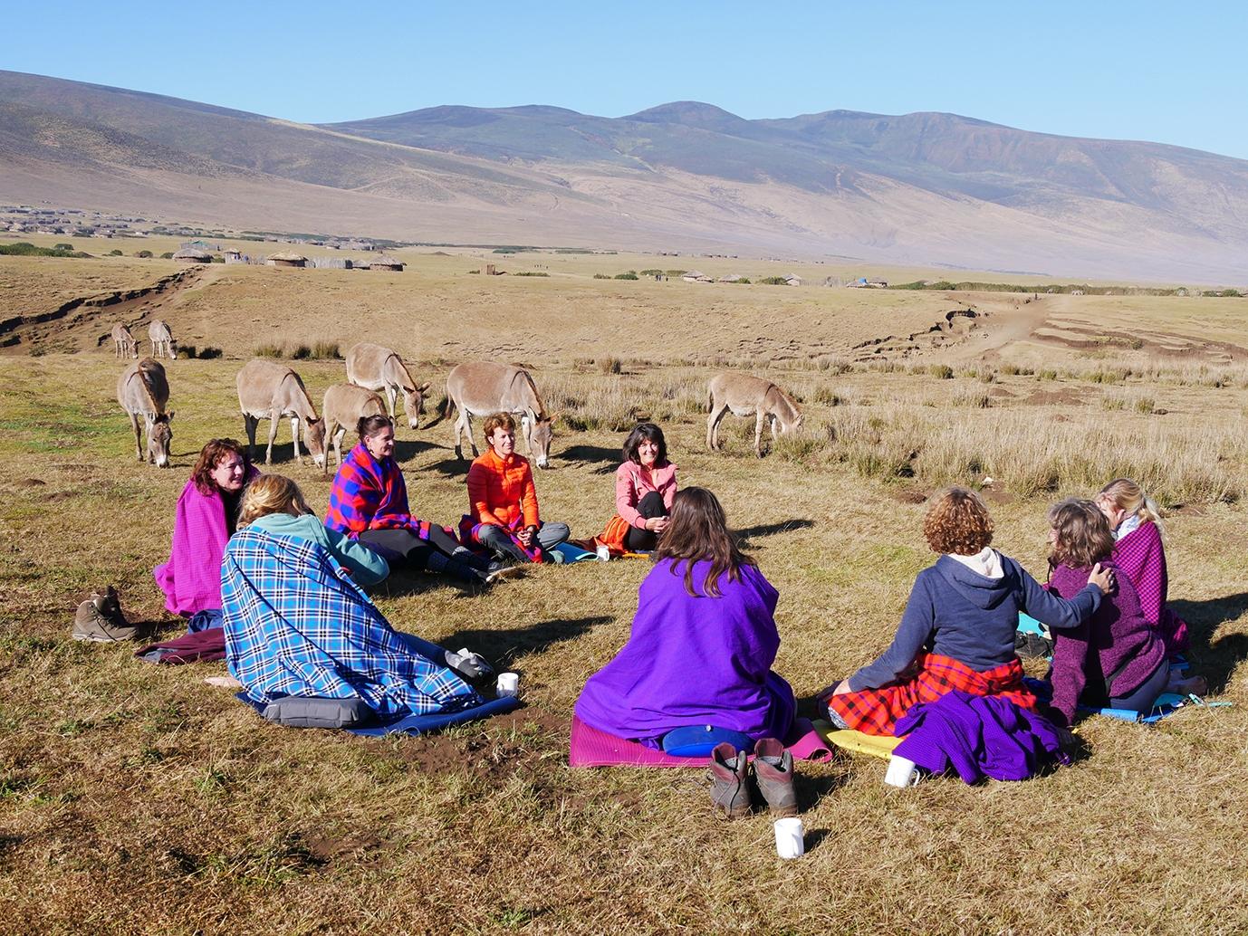 Tanzania Ngorongoro sharing