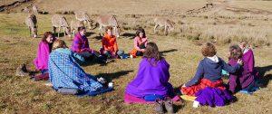 Spirituele oefening Tanzania