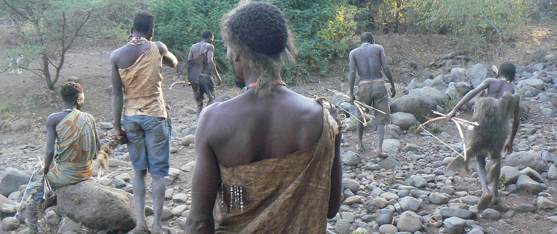 Leiderschap bosjesmannen Afrika