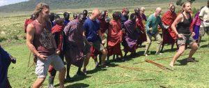 Haka met Masaï leiderschap retraite