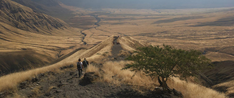Leiderschap trektocht Ngorongoro