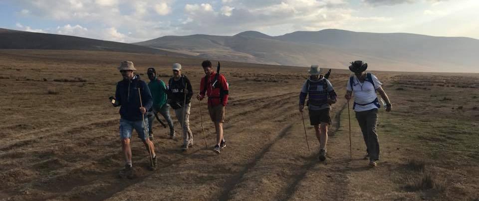 hiking Ngorongoro