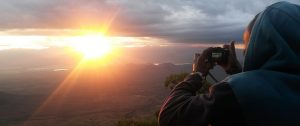 sunset Usambara Mountains