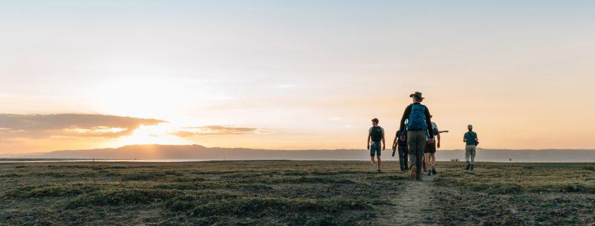 mannen natuur reis Tanzania