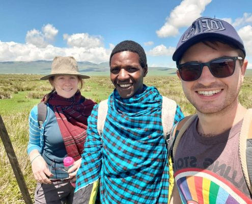 walking safari Ngorongoro